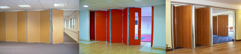 Double Fold Sliding Partition