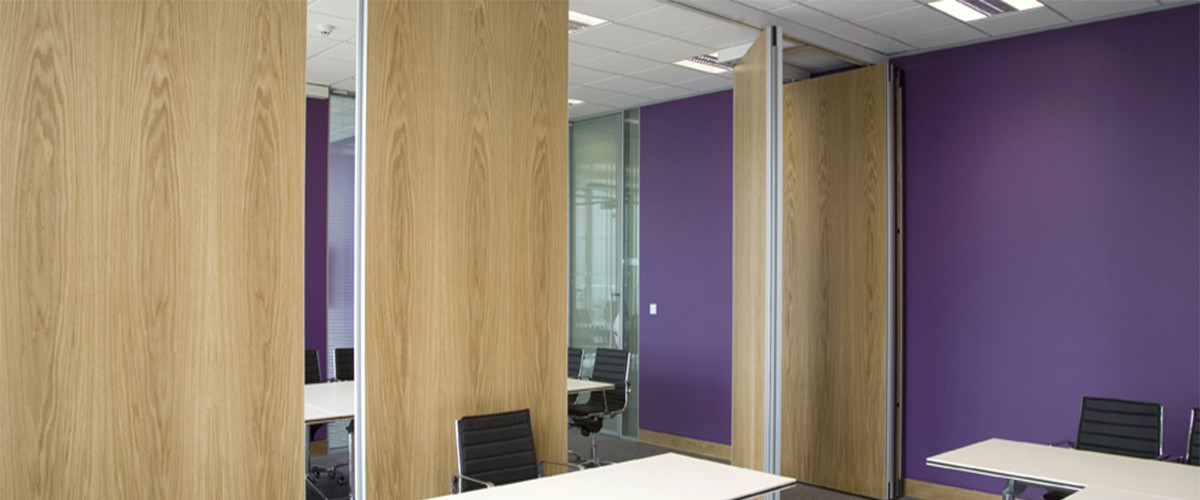 Acoustic sliding folding partition movable wall - Best way to soundproof interior walls ...