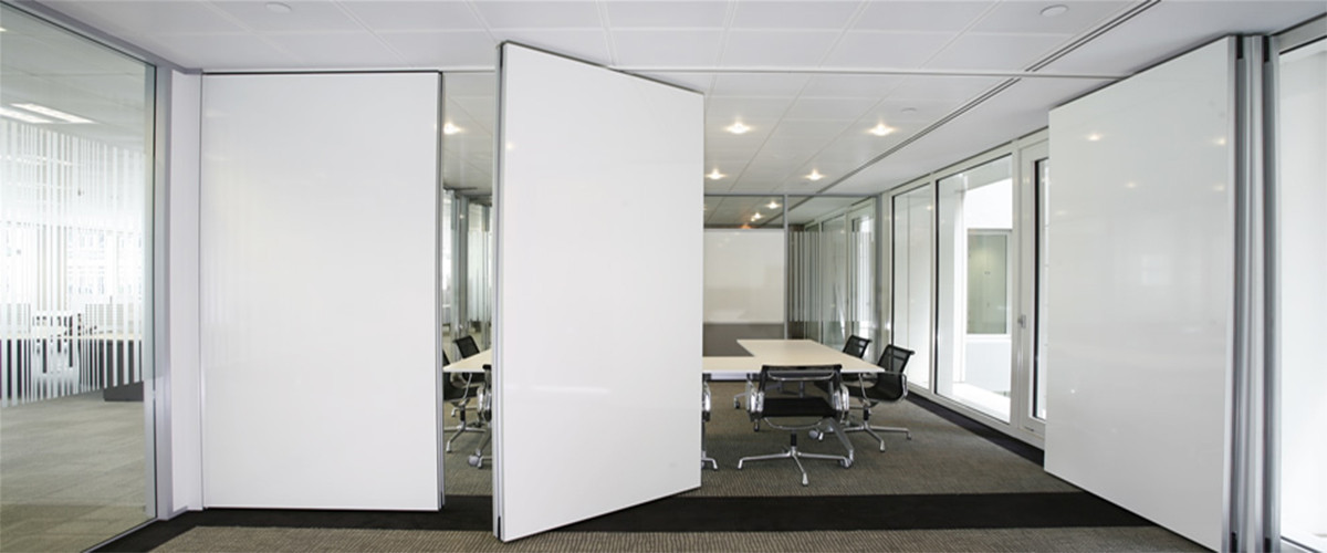 Acoustic sliding folding partition movable wall for Sliding glass wall systems