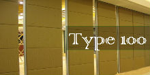 Type 100 Series Sliding Folding Partition